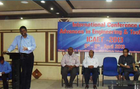 International Conference ICAET-2013